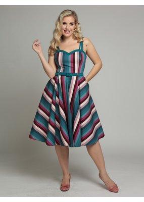 Collectif SPECIAL ORDER Collectif Nova Paradise Stripe Dress