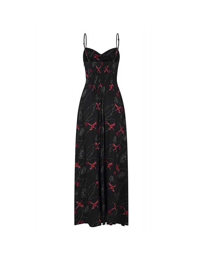 Collectif Collectif Tara Phoenix Maxi Dress