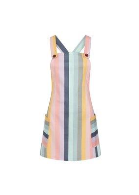 Collectif SPECIAL ORDER Collectif Lena Carnival Stripe Mini Dress