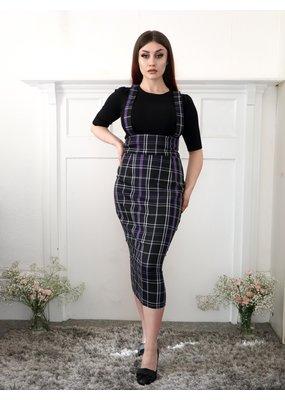 Collectif SPECIAL ORDER Collectif Karen Nancy Check Pencil Skirt