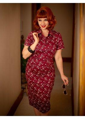 Collectif Collectif Mirtilla Bandana Pencil Dress