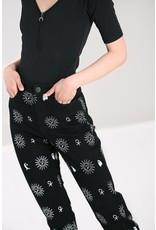 Hell Bunny Hell Bunny Oculus High Waist Jeans