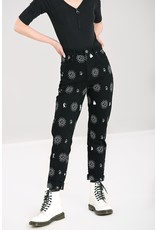 Hell Bunny SPECIAL ORDER Hell Bunny Oculus High Waist Jeans