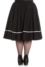 Hell Bunny SPECIAL ORDER Hell Bunny Miss Muffet Skirt White