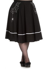 Hell Bunny Hell Bunny Miss Muffet Skirt White
