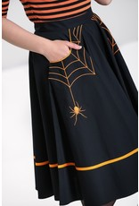 Hell Bunny SPECIAL ORDER Hell Bunny Miss Muffet Skirt Orange