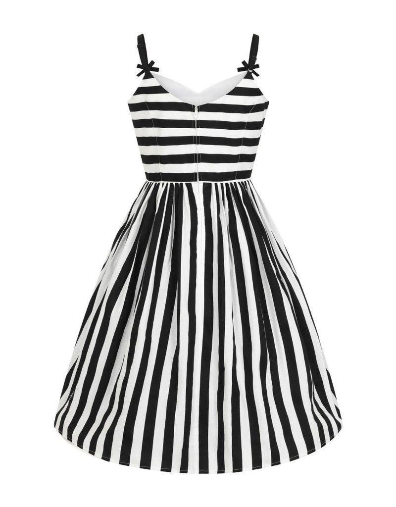 Hell Bunny Hell Bunny Juno Striped Swing Dress