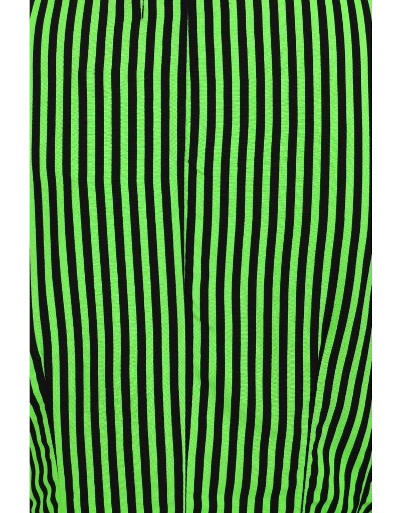 Hell Bunny SPECIAL ORDER Hell Bunny Striped Humbug Blouse Green