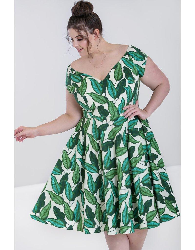 Hell Bunny Hell Bunny Rainforest Swing Dress