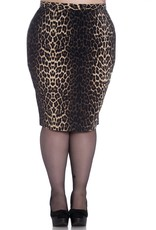 Hell Bunny Hell Bunny Panthera Pencil Skirt