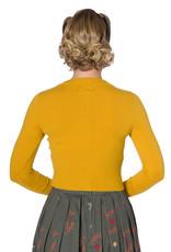 Hell Bunny Dancing Days Dolly Cardigan Mustard