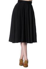 Banned Dancing Days Di Di Swing Skirt Black