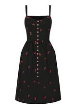 Collectif Collectif  Kimberley Mini Cherries Swing Dress