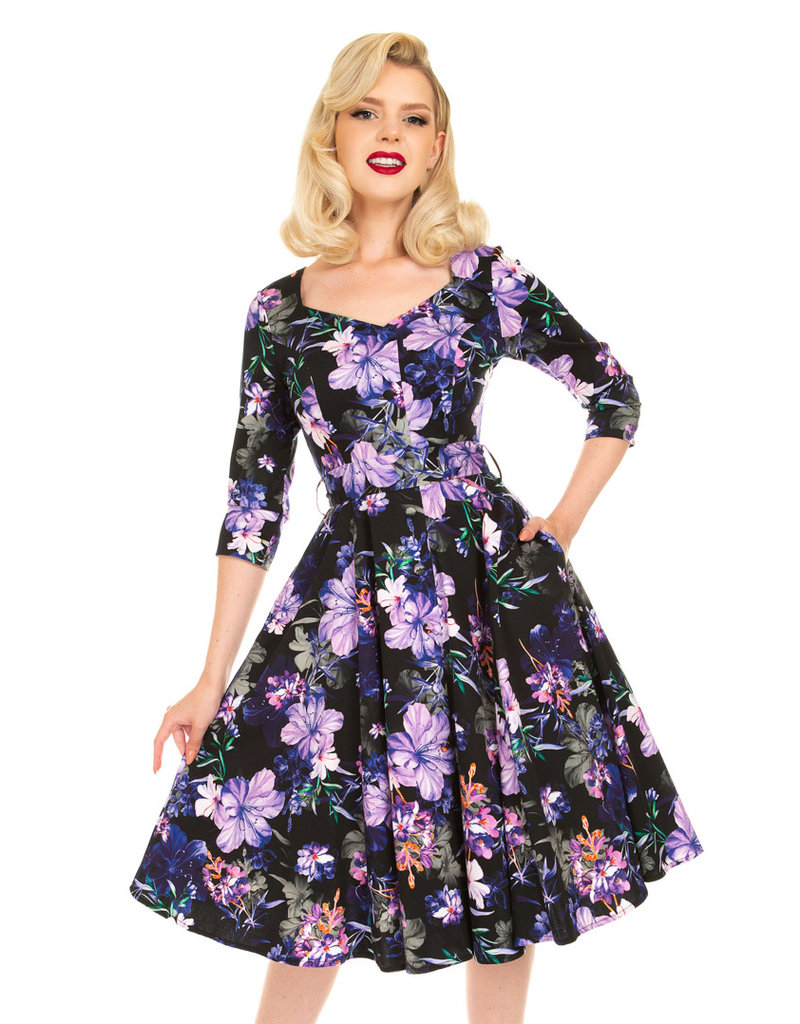 Hearts and Roses Hearts & Roses Faye Floral Swing Dress