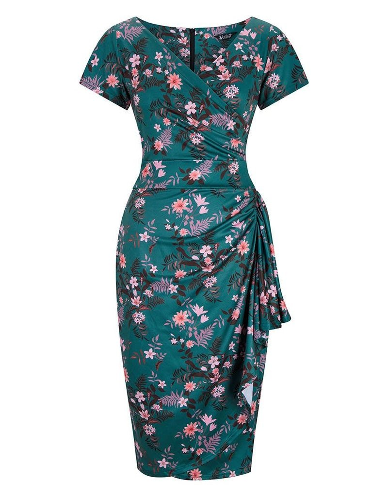 Lady V London Lady Vintage 1950s Elsie Nights in Hawaii Dress