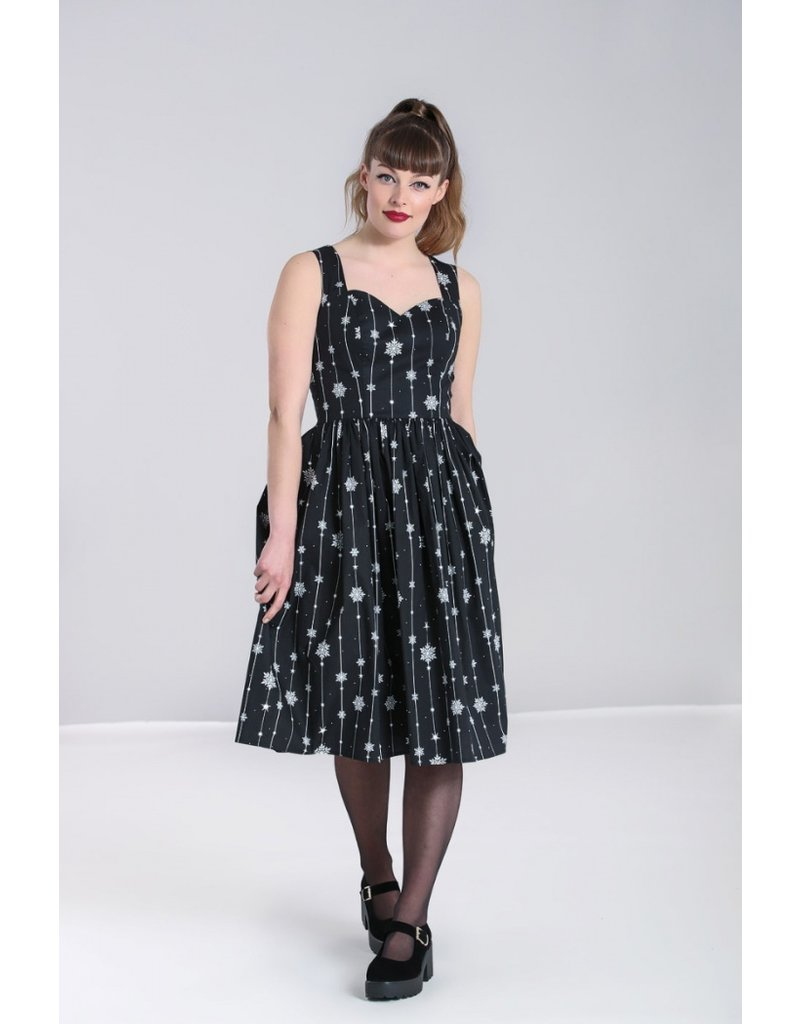 Hell Bunny Hell Bunny Belle Snowflake Dress