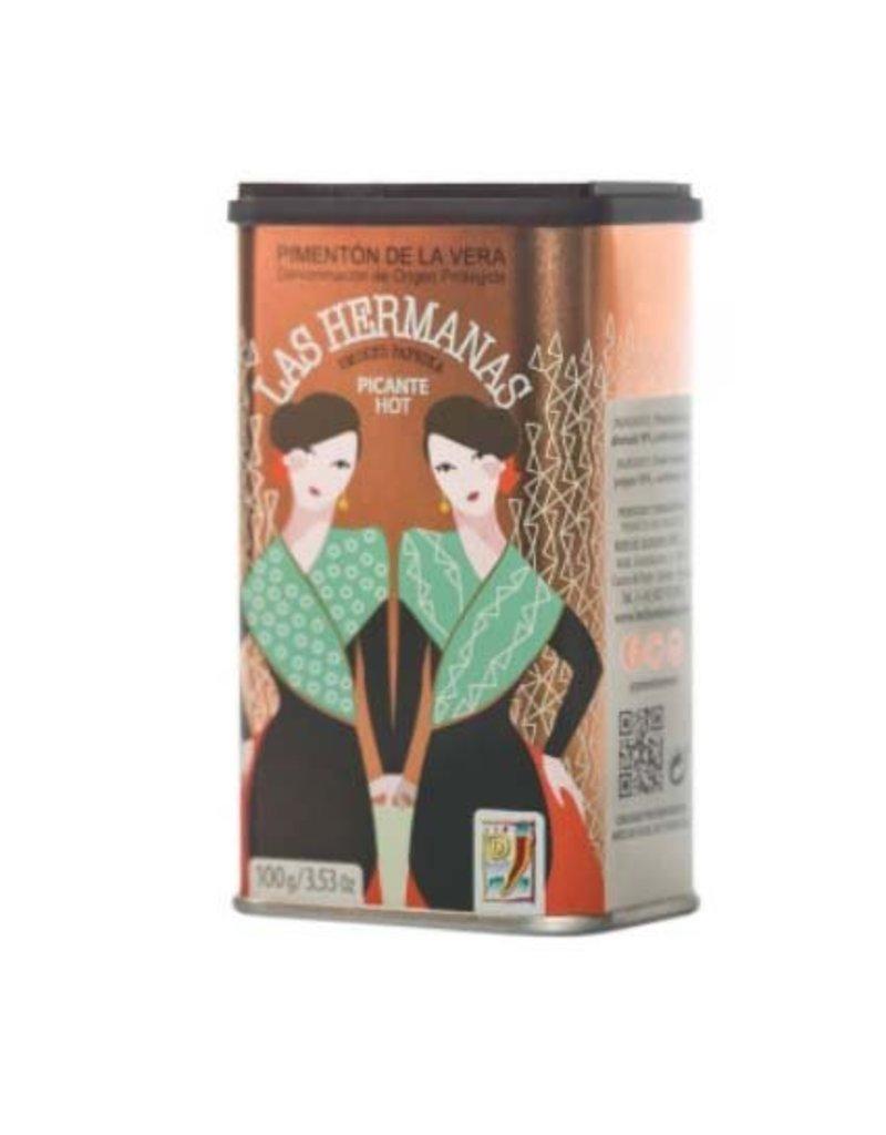 Las hermanas Gerookt paprikapoeder Las Hermanas picante