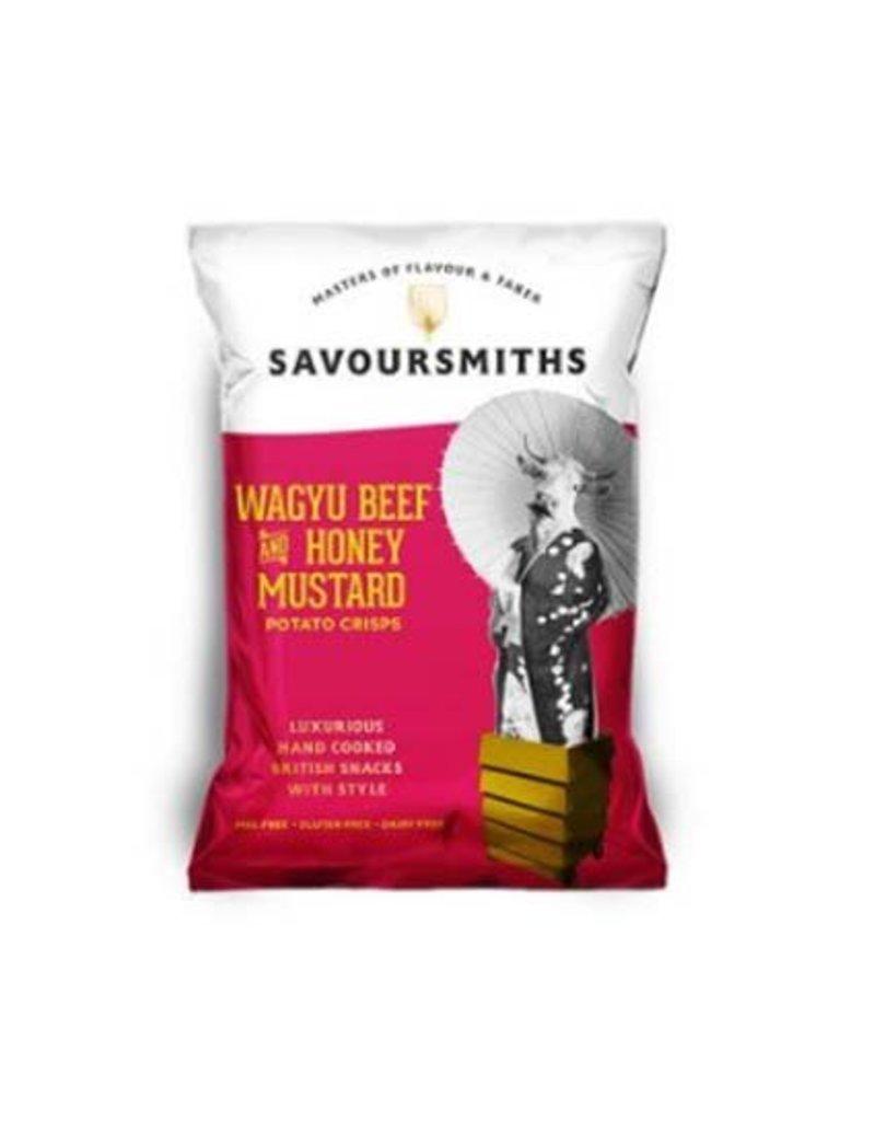 Savoursmiths Savoursmiths chips met wagyu en mosterd