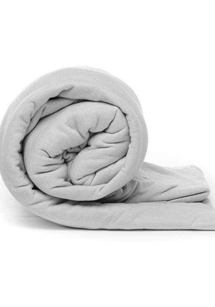 Hoeslaken Jersey Roll Grijs 30 cm Hoekhoogte