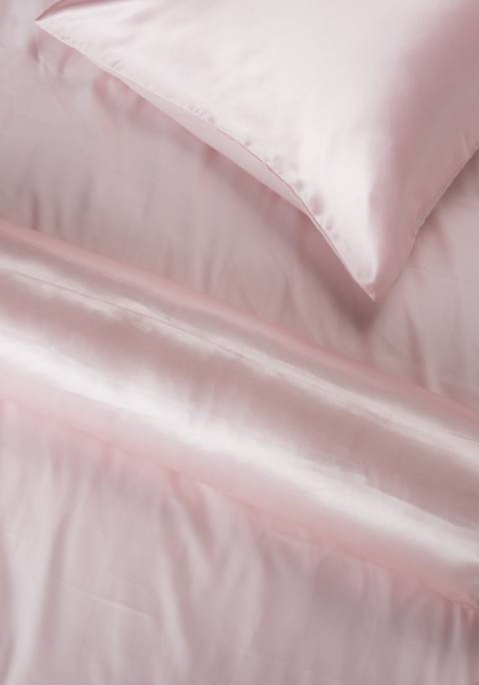 Satijnen Nekrol Zacht Roze 90x23 cm