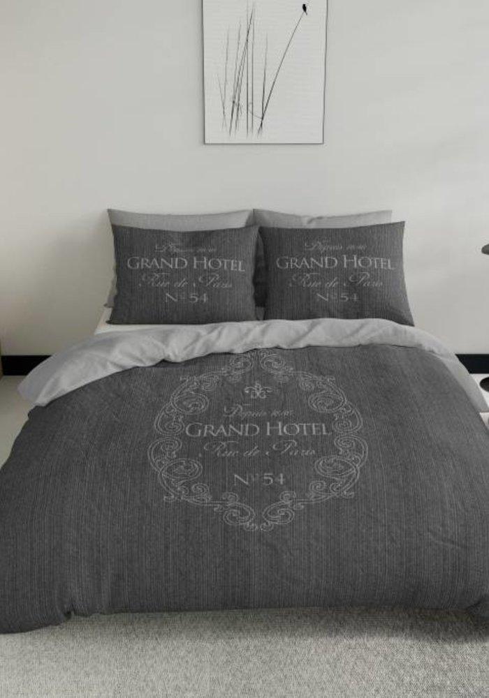 Dekbedovertrek Grand Hotel Antraciet