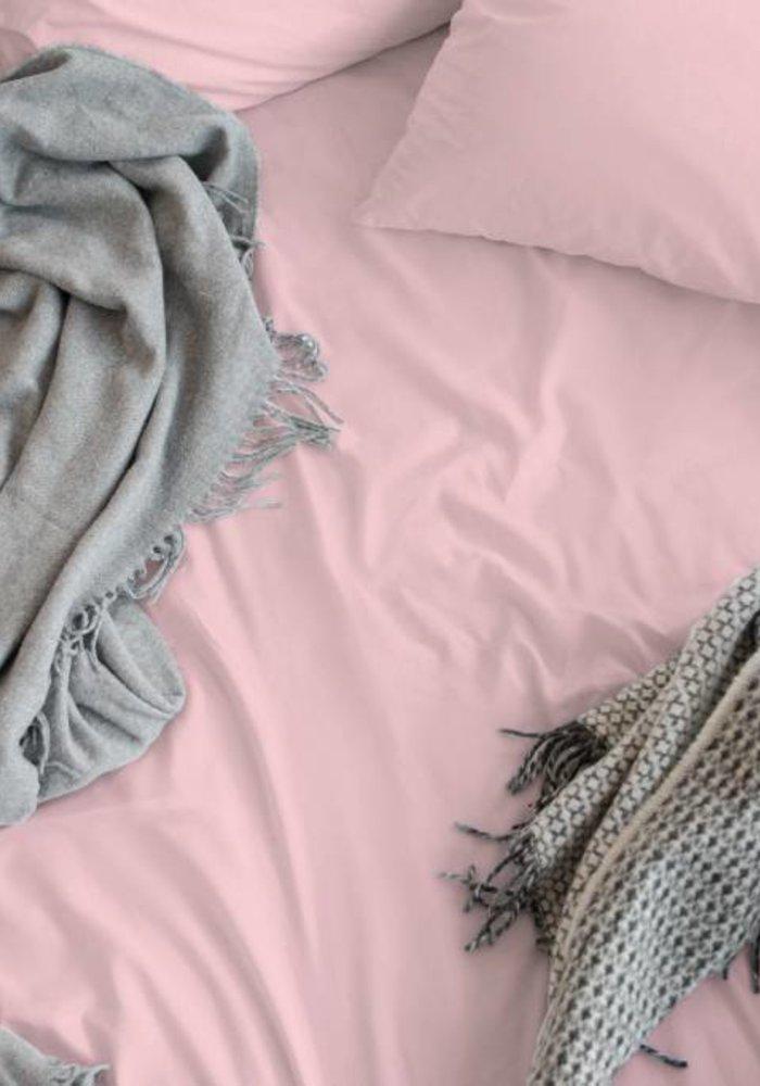 Kussensloop Cotton Satijn Roze