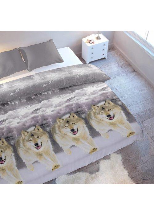 Dekbedovertrek Ice Wolf