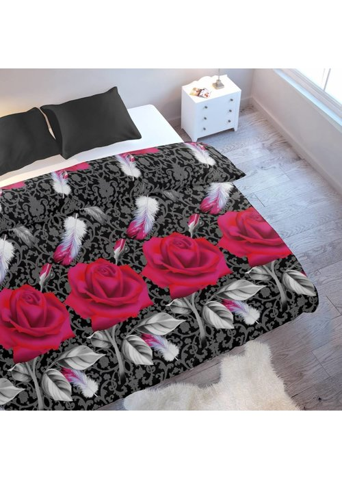 Duvet Cover Rose Feather