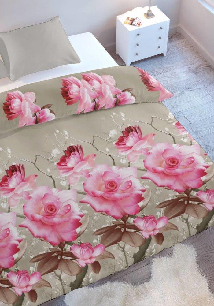 Dekbedovertrek Pink Roses