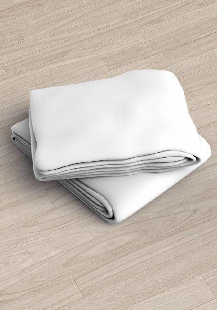 Hoeslaken Jersey Duopack Wit 30 cm Hoekhoogte
