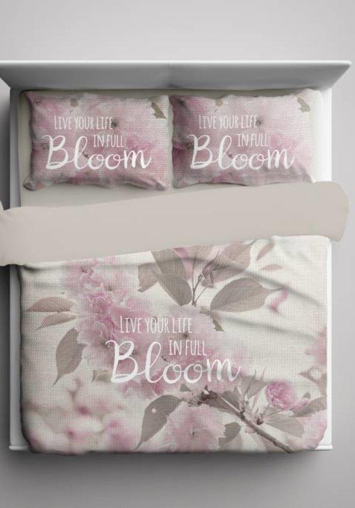 Dekbedovertrek Life In Bloom Beige