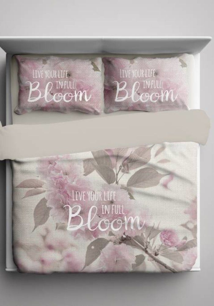 Duvet Cover Life In Bloom Beige
