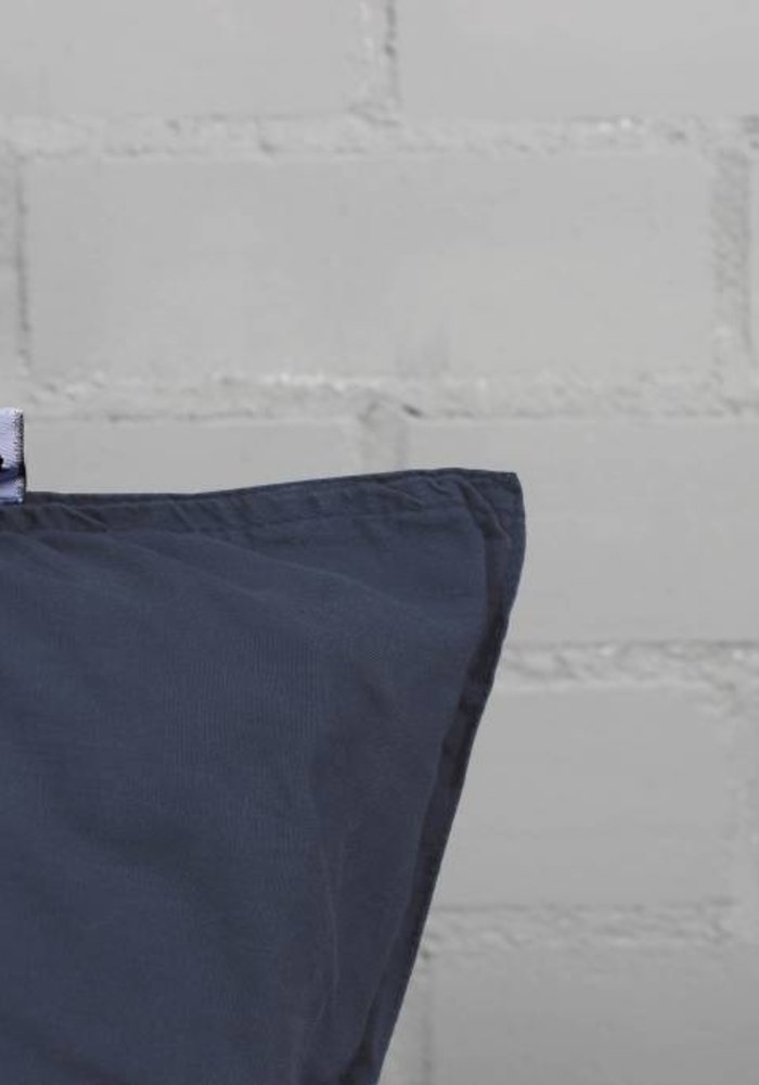 Dekbedovertrek Pierre Cardin Washed Linnen Navy