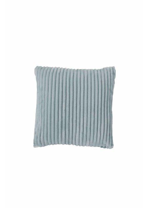 Pl Rib Flanel Cushion Cover Mint