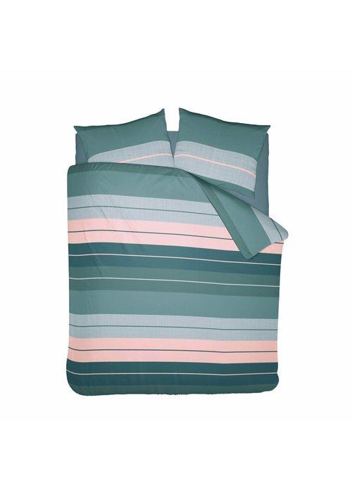 Duvet Cover Striped Linen Flanel