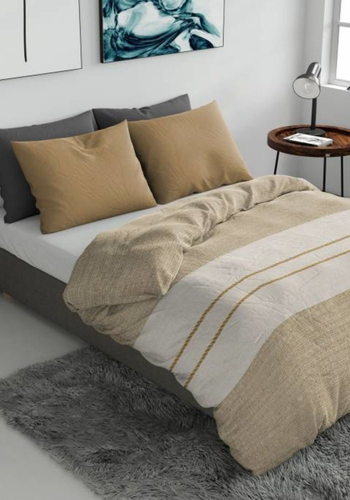 Duvet Cover Rope Taupe