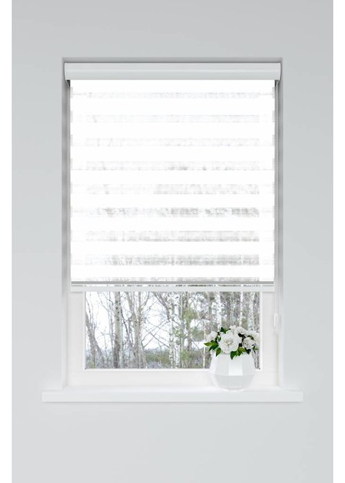 Duo Roller Blind Wit