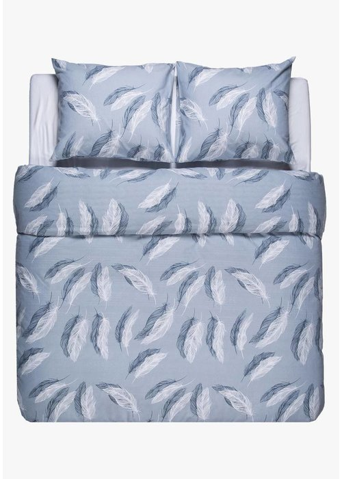 Duvet Cover Snow Feathers Flanel