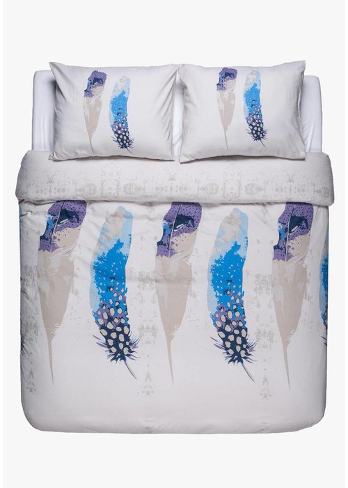 Duvet Cover Peacock Feathers Flanel