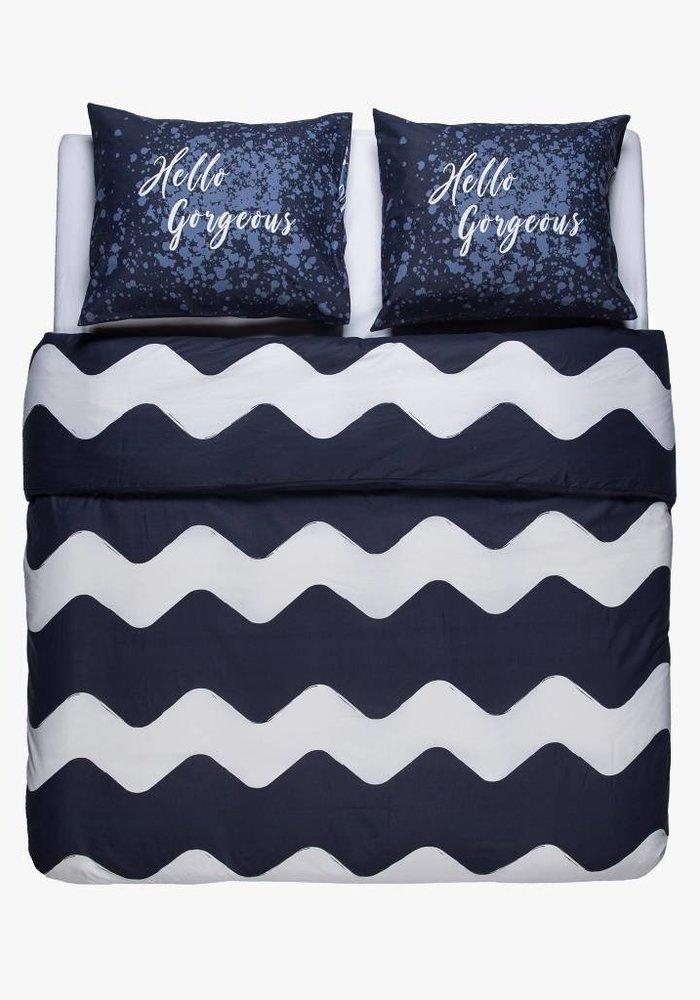 Duvet Cover Pierre Cardin Hello Gorgeous Navy