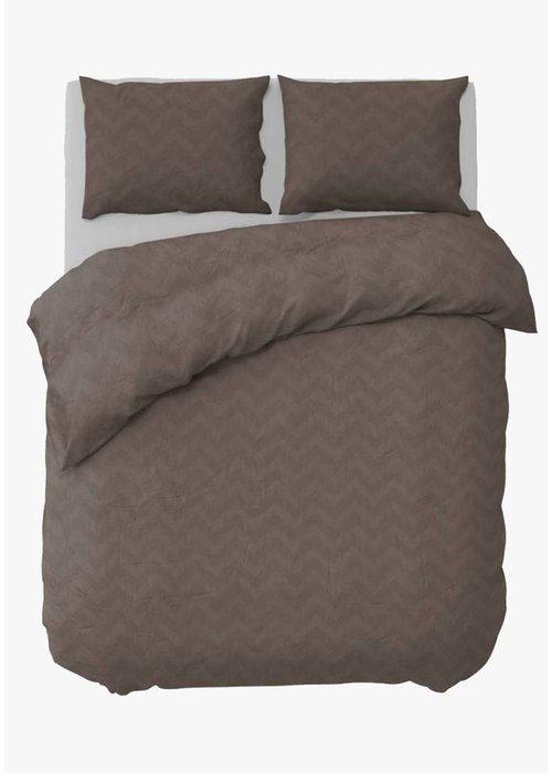 Duvet Cover Zigzag Uni Jaquard