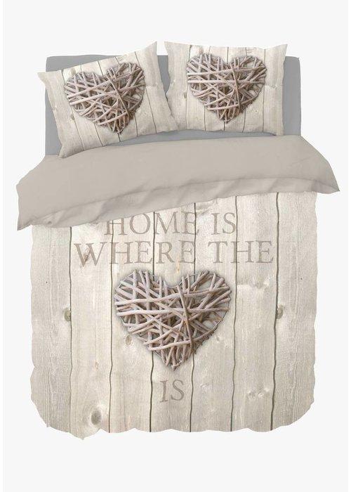 Dekbedovertrek Home Is Wood