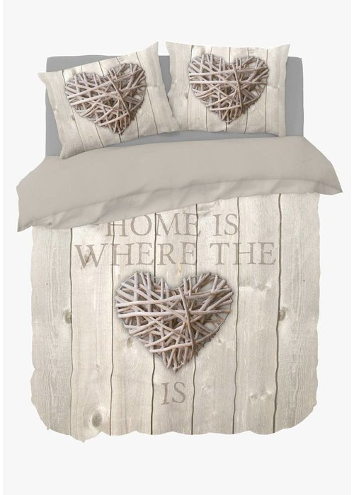 Duvet Cover Home Is Wood