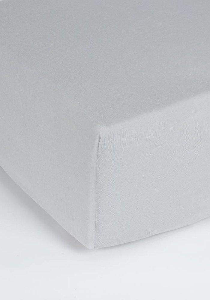 Hoeslaken Jersey Matras Grijs 35 cm Hoekhoogte