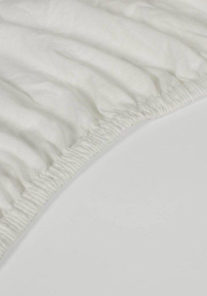 Hoeslaken Jersey Matras Ecru 35 cm Hoekhoogte