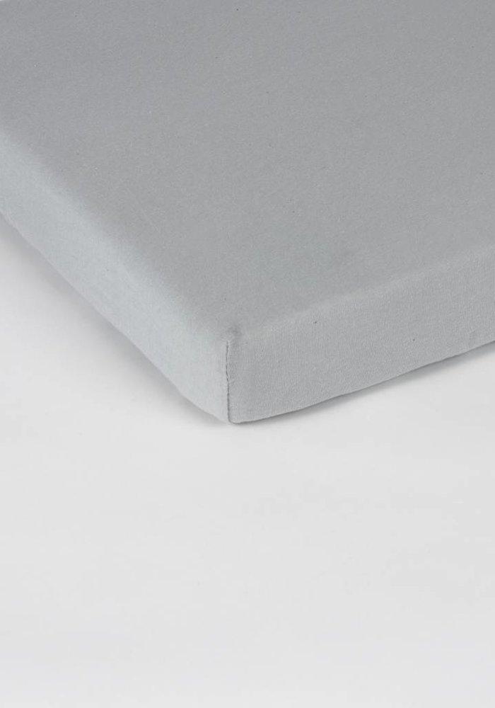 Hoeslaken Jersey Topper Grijs 15 cm Hoekhoogte