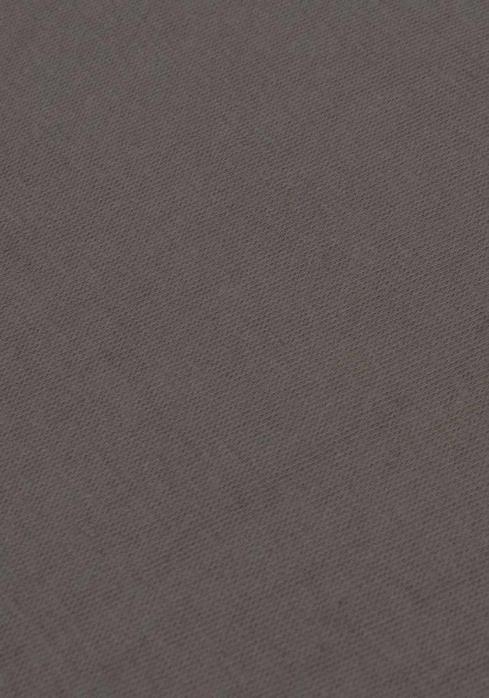 Hoeslaken Jersey Topper Taupe 15 cm Hoekhoogte