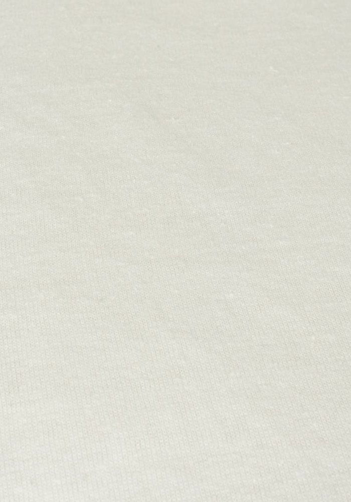 Fitted Sheet Jersey Topper Off White 15 cm Corner Drop