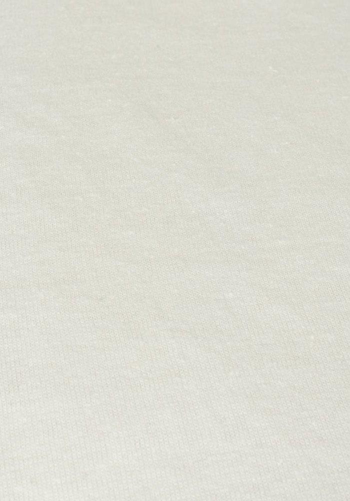Hoeslaken Jersey Topper Ecru 15 cm Hoekhoogte