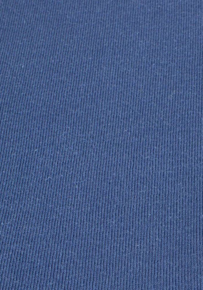 Hoeslaken Double Jersey Interlock Topper Hemelsblauw 17 cm Hoekhoogte
